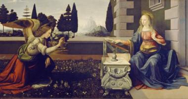 天使、絵画