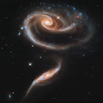 宇宙、銀河、星