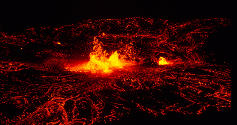 マグマ、噴火、火山
