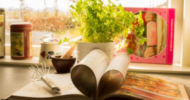 ハート、本、植物、緑
